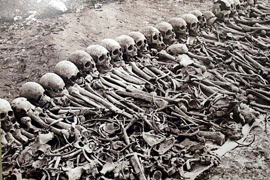 Mass Graves God and Genocide